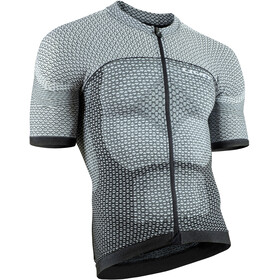 UYN Biking Alpha OW Blouse korte mouwen Heren, white/black